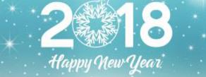 Вітаємо з Прийдешнім Новим 2018 Роком!